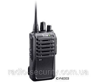 Радиостанция портативная Icom IC-F3003