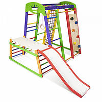 Детский спортивный комплекс для дома SportBaby «Акварелька Plus 1-2»