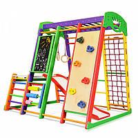 Детский спортивный комплекс для дома SportBaby «Акварелька Plus 1-4»