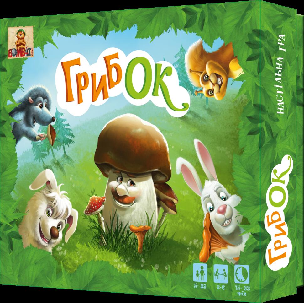 Дитяча настільна гра ГрибОК 800170 розвиваюча