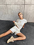 """Женский костюм с шортами и футболкой """"Бабочки"""", фото 10"""