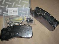 Колодка тормозная дисковая (компл. на ось) BPW, Iveco, Man 2000,TGM, Mercedes ATEGO, SAF (RIDER) (производство Rider ), код запчасти: RD 29095PRO