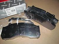 Колодка тормозная дисковая (компл. на ось) SAF SK9022H (RIDER) (производство Rider ), код запчасти: RD 29143PRO