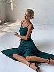 Платье софт на тонких бретелях, фото 7
