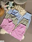 Женский костюм двойка шорты + рубашка софт, фото 4