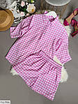Женский костюм двойка шорты + рубашка софт, фото 5