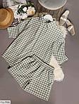 Женский костюм двойка шорты + рубашка софт, фото 7