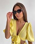 Женский костюм двойка шорты + укороченный топ, фото 4