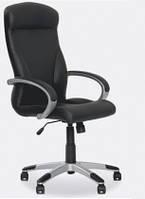 Кожаное кресло руководителя Riga ECO-30 черный