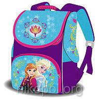 """Рюкзак школьный """"SPACE - Холодное сердце - Эльза с сестрой"""", ортопедический, коробка 33х26х17см."""