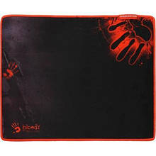 Килимок для миші ігровий 430*350*2мм A4Tech Bloody B-080S тканинний прошитий чорний з червоним новий