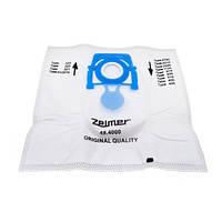 Комплект мішків (8 шт) SAFBAG + фільтр мотора ZVCA100B для пилососа Zelmer (без упаковки)