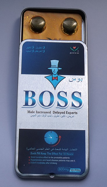 Препарат для потенции  Boss