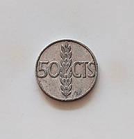 50 сентимо Испания 1966 г., фото 1