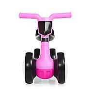 Толокар-беговел для малышей BAMBI M 4086-8 розовый с музыкой и светом, фото 4