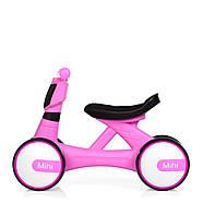 Толокар-беговел для малышей BAMBI M 4086-8 розовый с музыкой и светом, фото 5
