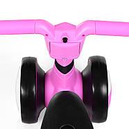 Толокар-беговел для малышей BAMBI M 4086-8 розовый с музыкой и светом, фото 6