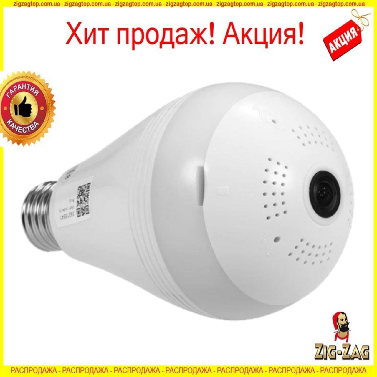 Камера wifi в виде лампочки с SD card, Ночным режимом и громкой связью A9, камеру наблюдения Видеокамера 1080P