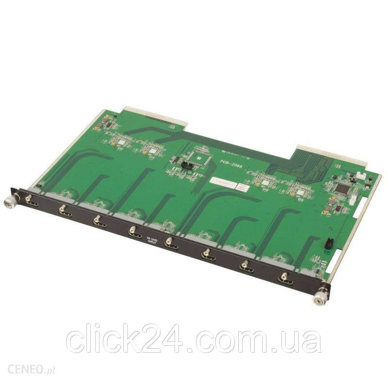 Lindy 8-portowy przełącznik 4K HDMI do modularnej obudowy 8xIN Matrix (38253)