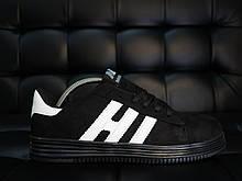 РАСПРОДАЖА Кеды H-B  V2 черные с белым