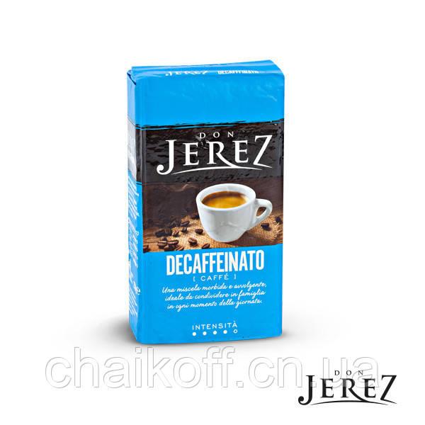 Кофе молотый Кофе Don Jerez Decaffeinato (без кофеина) 250 г (Италия)