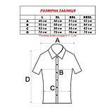 Сорочка чоловіча (приталена) з коротким рукавом Bagarda BG5727 PINK 80% льон 20% бавовна XXL(Р), фото 2