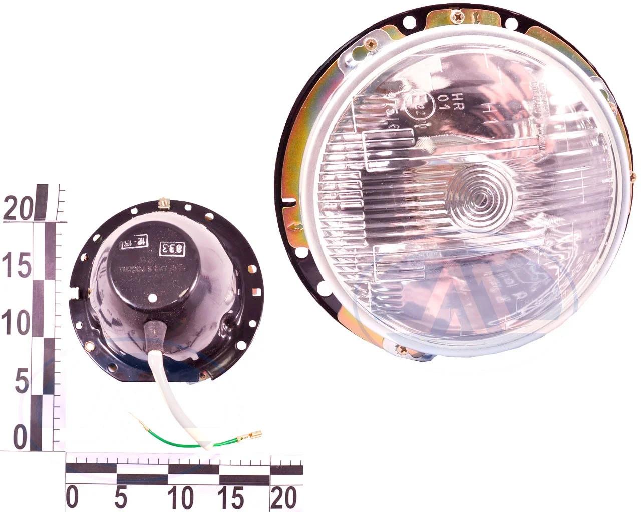 Фара ВАЗ 2103, 2106 ліва, дальнє світло (833.3711-БЛ) ОСВАР