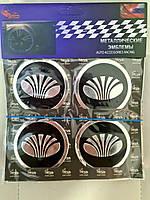 Наклейки на колпачки, заглушки, наклейки на диски 60 мм Daewoo Део