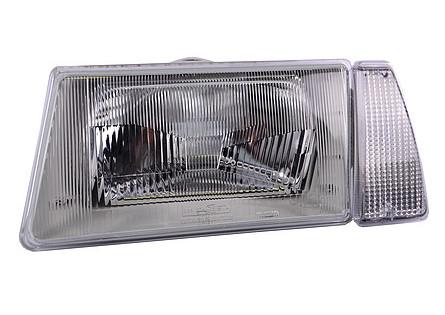 Фара ВАЗ 2108-099 ліва білий Покажчик без ламп (931.3711-БЛ) ОСВАР