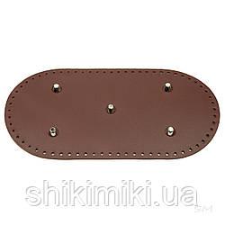 Дно сумки з ніжками (30*15 см), колір коньячний