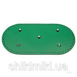 Дно сумки з ніжками (30*15 см), смарагдовий колір