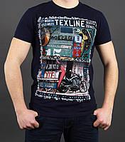 Мужская футболка с оригинальным рисунком