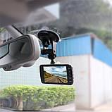 Автомобильный видеорегистратор Full HD 1080p 2 камеры авто регистатор, фото 9