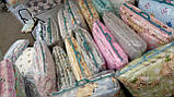 Набір дитячої постільної білизни з бортиками в ліжечко/манеж, фото 2