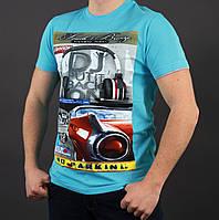 Мужская хлопковая футболка