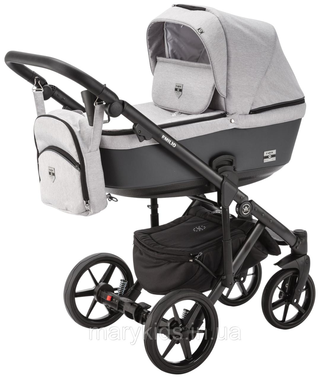 Детская универсальная коляска 2 в 1 Adamex Emilio EM-266