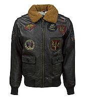 Шкіряна куртка Top Gun Super Vintage Official Signature Series Jacket TopGunSV (Brown)