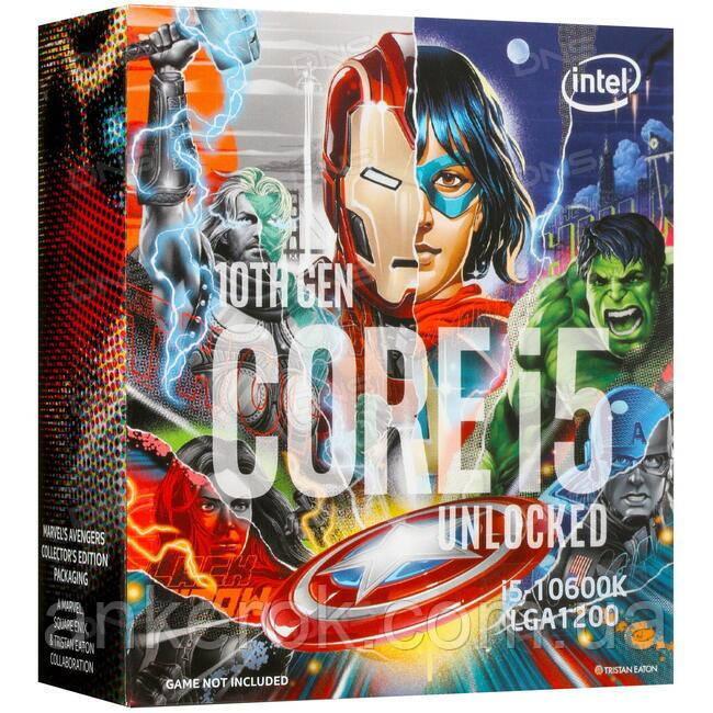 Процессор Intel Core i5-10600KA Avengers Edition (BX8070110600KA)
