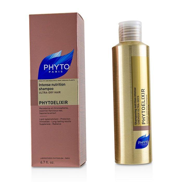 Шампунь Интенсивное питание для сухих волос Phyto Phytoelixir Shampooing Фито Фитоеликсир 200 мл