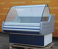 Низькотемпературна холодильна вітрина «Cold W 12 SG» 1.2 м. (Польща), мармурова стільниця, Б/в