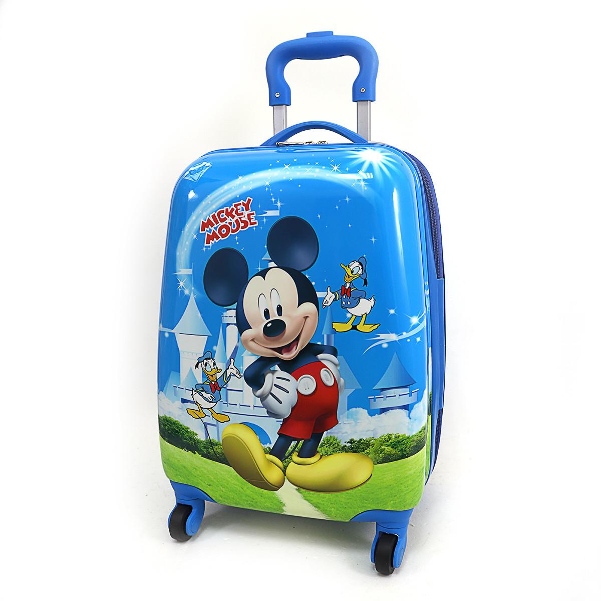 """Детский пластиковый чемодан  """"Микки Маус"""""""