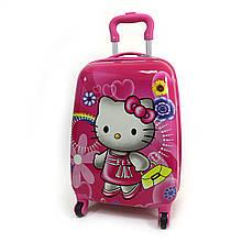 "Дитячий пластиковий чемодан ""Hello Kitty"""