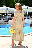 Легке літнє жіноче батальне сукня з принтом (р. 52-66), фото 2