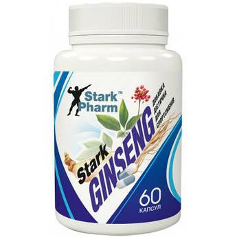 Женьшень экстракт Stark Pharm Ginseng Strong Extract 60 капсул