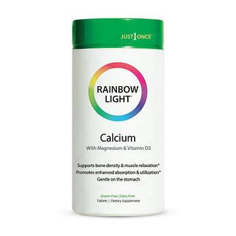 Кальцій магній д3 Rainbow Light Calcium with Magnesium & Vitamin D3 90 таблеток