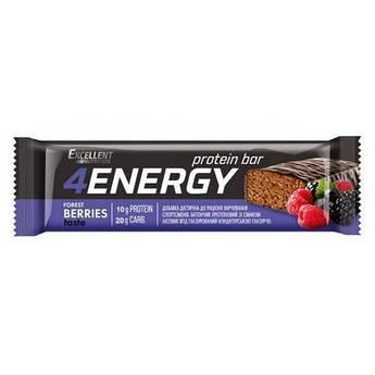 Протеиновый батончик Monsters 4 ENERGY 40 грамм Ягоды