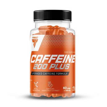 Кофеїн Trec Nutrition Caffeine 200 Plus 60 капсул