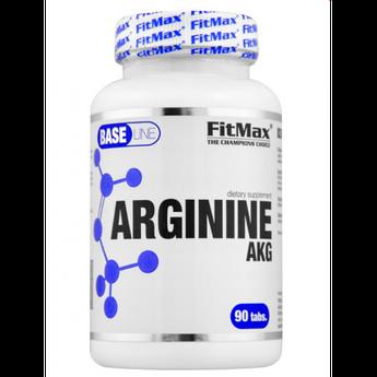 L-аргинин альфа-кетоглютарат FitMax Arginine AKG 90 таблеток