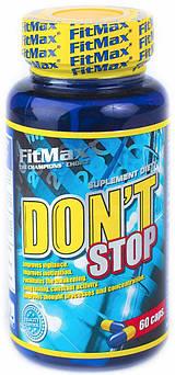 Предтренировочный комплекс FitMax Don`t stop 60 капсул