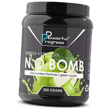 Предтренировочный комплекс Powerful Progress N.O.Bomb 300 грамм Тропичный сок